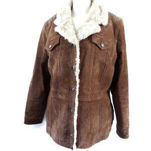 Wilson's Leather | Maxima Brown Coat Jacket XL